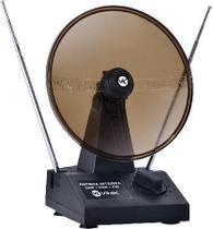 Antena digital com parábola para tv - vhf uhf fm digital/analógica - Vinik