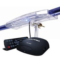 Antena Digital Externa Capte  Diamante e Conversor Digital Aquários DT 5000 -