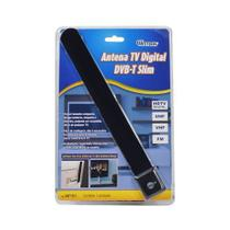 Antena Digital Hd Tv Interna Mini Slim Vhf Dtv Fm Hdtv - Western -