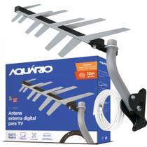 Antena Externa Digital pronta p/ Instalar Aquário Dtv-1500 - Aquario
