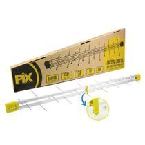 Antena Externa HDTV LOG 28 Elementos 008-9509 Pix -