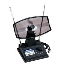 Antena Interna para TV Aquario TV-350 Mini Parabolica VHF/UHF e FM