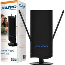 Antena Interna TV VHF/UHF/FM/HDTV Digital DTV4500 Aquario