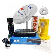 Antena Parabólica Century 1,70 Receptor Midiabox B4 Mono Cab -