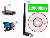 Antena Receptor Wi-fi 1200mbp Adaptador Wireless Notebook Pc -