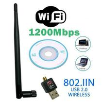 Antena Wifi Adaptador Wireless Usb 1200mbps - Confest