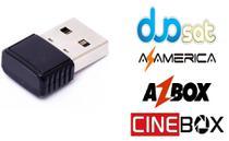 Antena Wifi Wireless duosat azamerica cinebox azbox attonet audisat superbox temos todos - Sandisk