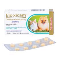 Anti-Inflamatório Elo-Xicam 0,5mg Chemitec c/ 10 Comprimidos -