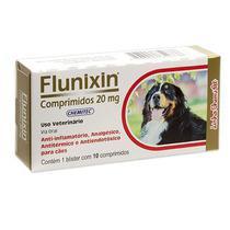 Anti-inflamatório Flunixin 20MG C/ 10 Comprimidos - Chemitec