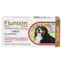 Anti-Inflamatório Flunixin 20mg Chemitec c/ 10 Comprimidos -