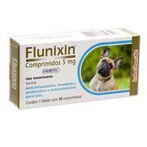 Anti-inflamatório Flunixin 5MG C/ 10 Comprimidos - Chemitec