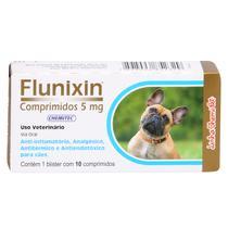 Anti-Inflamatório Flunixin 5mg Chemitec c/ 10 Comprimidos -