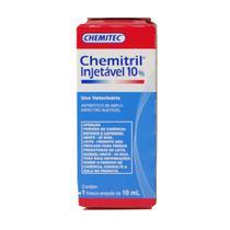 Antibiótico Chemitril Chemitec 10 Injetável 10ml -