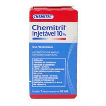 Antibiótico Chemitril Chemitec 10 Injetável 50ml -