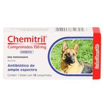 Antibiótico Chemitril Chemitec 150mg c/ 10 Comprimidos -