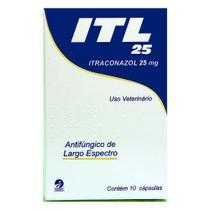 Antifúngico Itraconazol ITL Cepav 25mg 10 Cápsulas