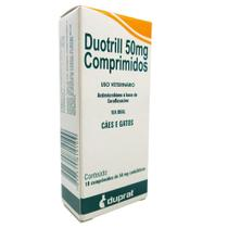 Antimicrobiano DuoTrill 50 mg Duprat 10 Comprimidos -