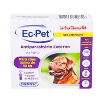 Antiparasitário EC-PET Chemitec p/ Cães (Acima de 40kg) 4,02ml - Roxo -