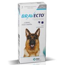Antipulga carrapato bravecto 1000 mg cães de 20 kg a 40 kg Msd