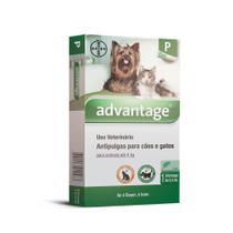 Antipulgas Advantage Cães e Gatos 0,4ml até 4kg Bayer -