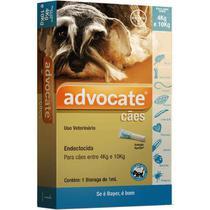 Antipulgas Advocate para Cães de 4 a 10kg (1,0ml) - Bayer -