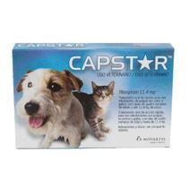 Antipulgas Capstar 11,4mg Cães e Gatos - Elanco