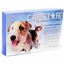 Antipulgas Capstar para Cães e Gatos até 11kg (6 comprimidos) - Elanco -