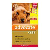 Antipulgas combo advocate bayer para cães de 10kg a 25kg  2,5ml -
