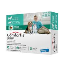 Antipulgas Comfortis 560 Mg Cães E Gatos - Elanco