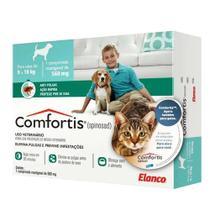 Antipulgas Comfortis 560mg para Cães de 9 a 18kg e Gatos de 5,4 a 11kg - 1 Comprimido - Elanco