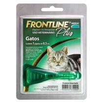 Antipulgas e Carrapatos Frontline Plus para Gatos - Merial
