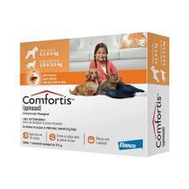 Antipulgas Elanco Comfortis 270 mg para Cães de 4,5 a 9 Kg e Gatos de 2,8 a 5,4 Kg - Comforts