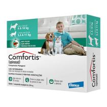 Antipulgas Elanco Comfortis para Cães de 9 a 18Kg e Gatos 5,4 a 11Kg -