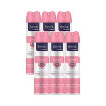 Antitranspirante Aerosol Candy Women 48h Above 150ml Kit 6un - Não Informada