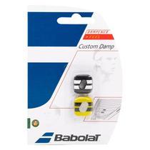 Antivibrador Babolat Custom Damp - Preto e Amarelo -