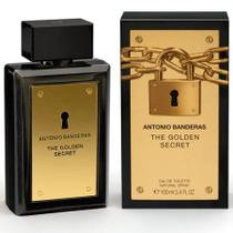 Antonio Banderas Masculino The Golden Secret Eau de Toilette 100ml