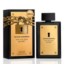 Antonio Banderas Masculino The Golden Secret EDT 200ml
