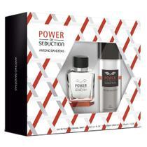 Antonio Banderas Power of Seduction Kit - Eau de Toilette + Desodorante -