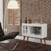 Aparador bar com adega laguna -branco - Rpm móveis