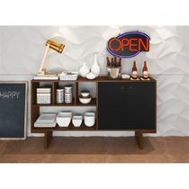Aparador Buffet Bar 2 Portas de Abrir BR57 Zeke - Estilare