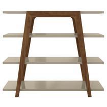 Aparador Buffet Retrô 4 Prateleiras Loft - Líder Design -