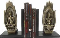 Aparador de livros mão de Buda em meditação - decoração - enfeite - Loja Das Facas