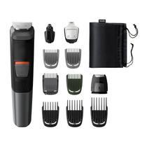 Aparador de Pelos Barbeador Philips Multigroom 11 em 1 Serie 5000 MG5730/15 Resistente a Água -