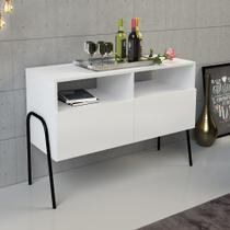 Aparador Multiuso Gatta Branco - Estilare móveis