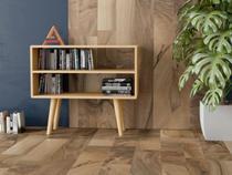 Aparador retrô estilo nicho vintage madeira mdf - Arte moderna decor