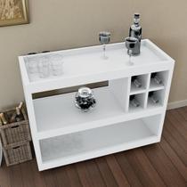 Aparador sala bar / adega 4050 - branco - Bechara