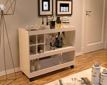 Aparador sala bar / adega 4050 - off white - Jb bechara