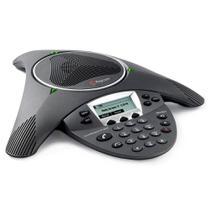Aparelho de Audioconferência SoundStation IP 6000 Sem Fonte - Polycom -