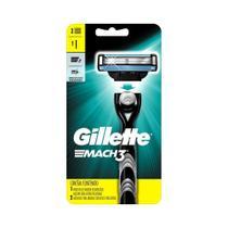 Aparelho De Barbear Gillette Mach3 Regular + Carga - 1 Cartela c/ 1 unidade - Gillette Mach 3