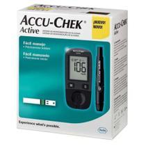 Aparelho de Glicemia Accu Check Active (KIT) - Roche -